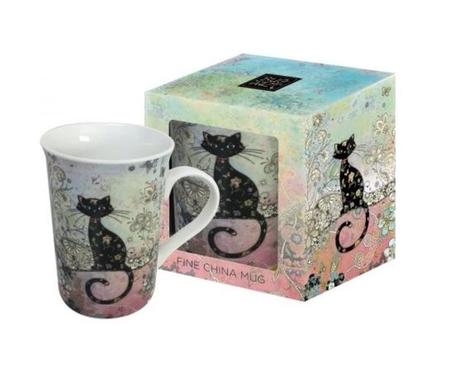 Cat Mug by Bug Art