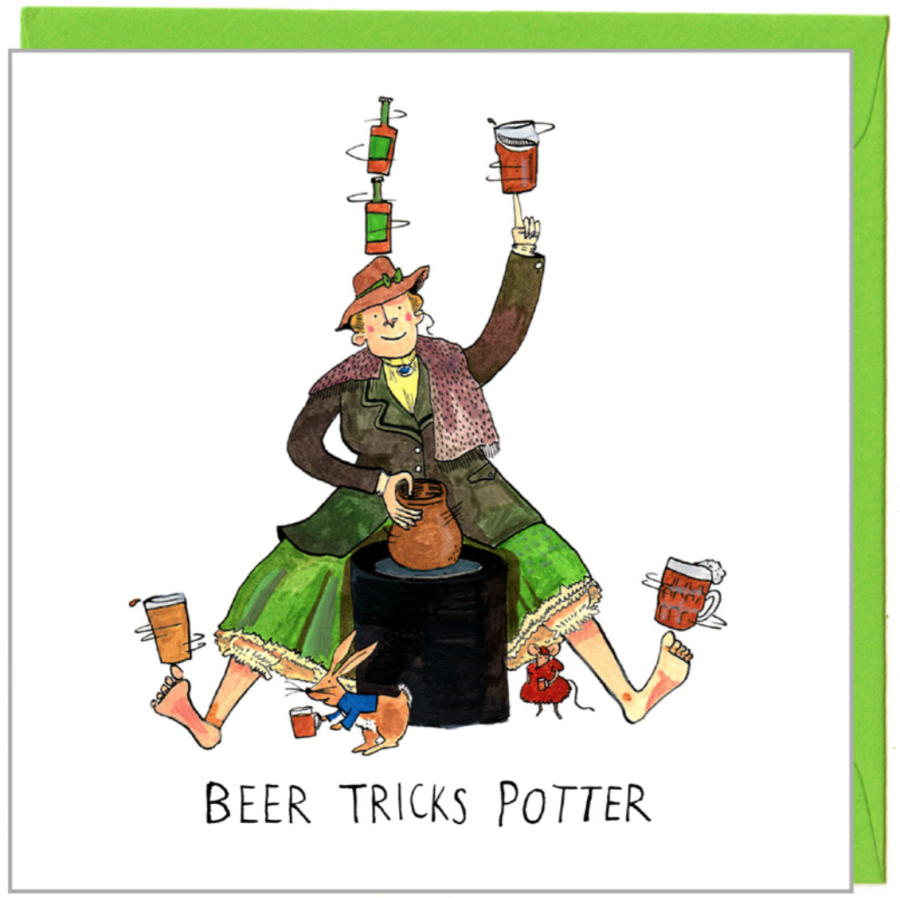 Beertricks Potter by Jelly Armchair