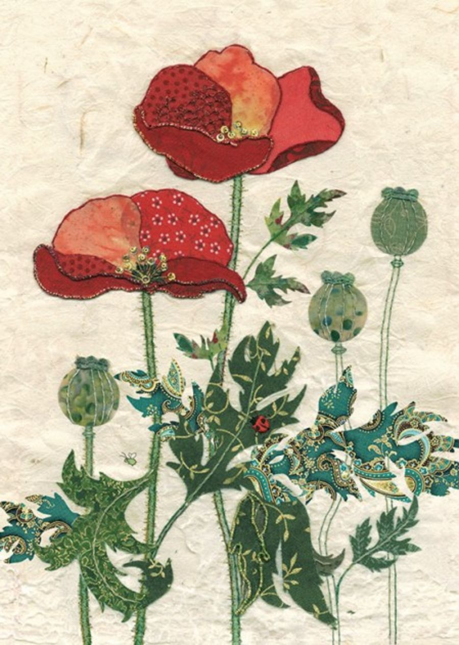 Pattern Poppies