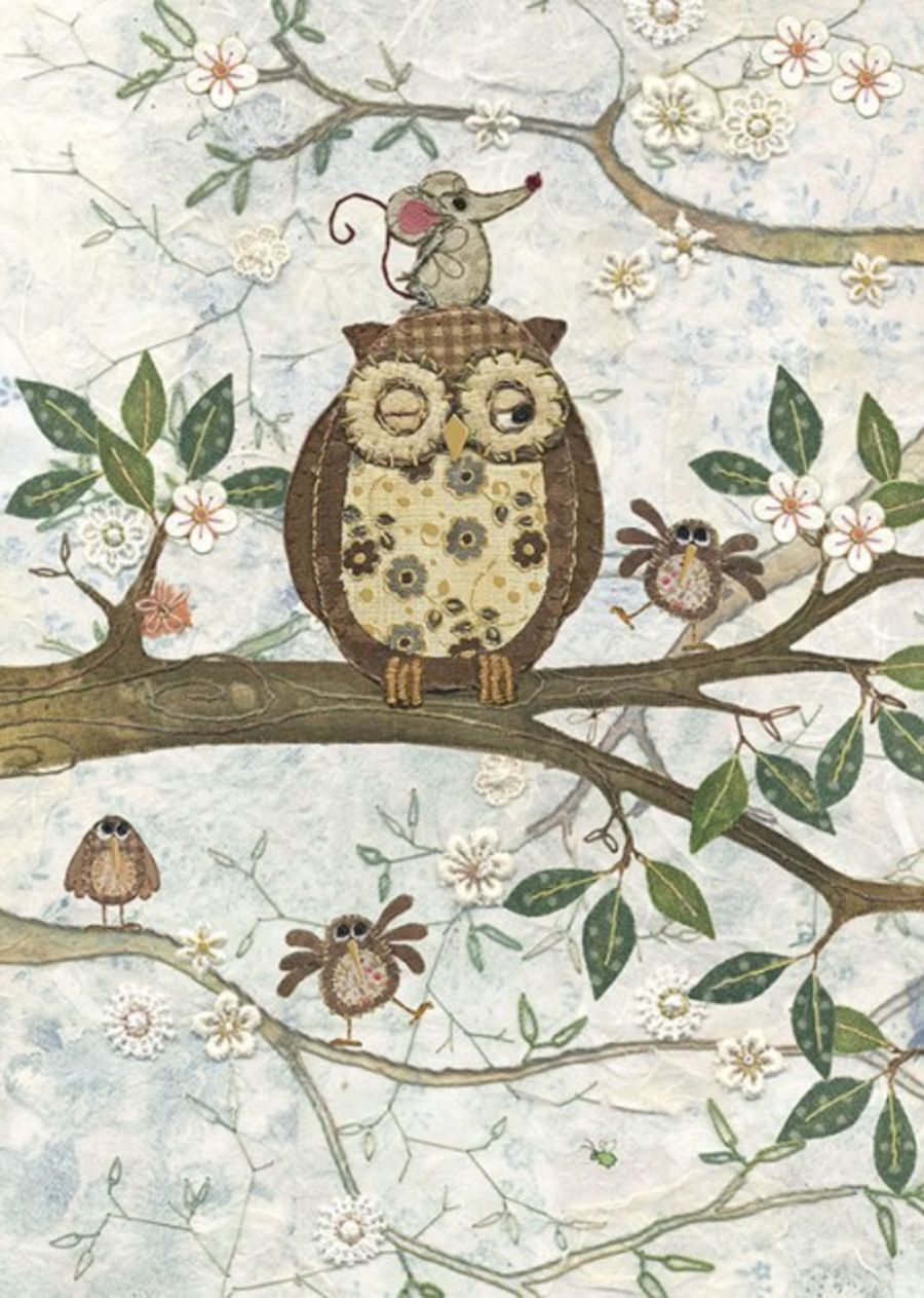 Owl & Mouse