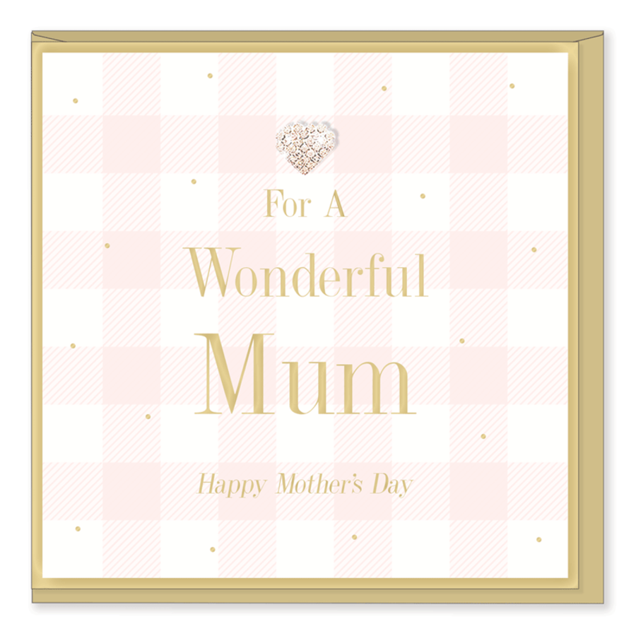 For a wonderful Mum Happy Mother's Day Card