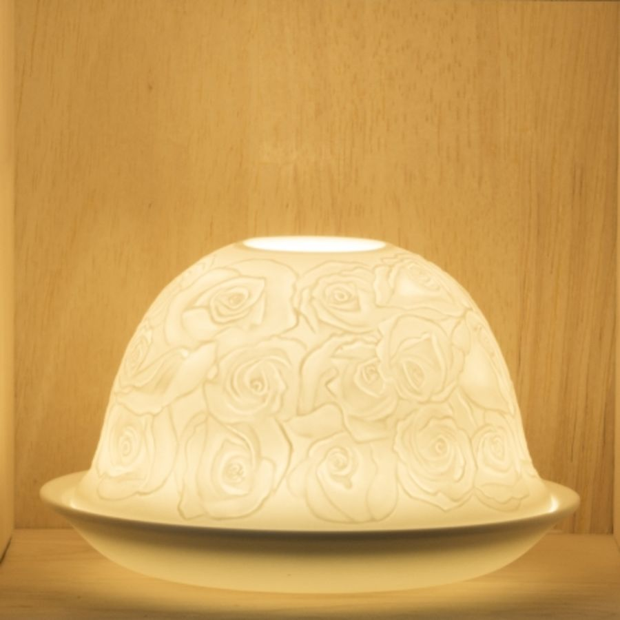 Nordic Lights Candle Shade - Rose
