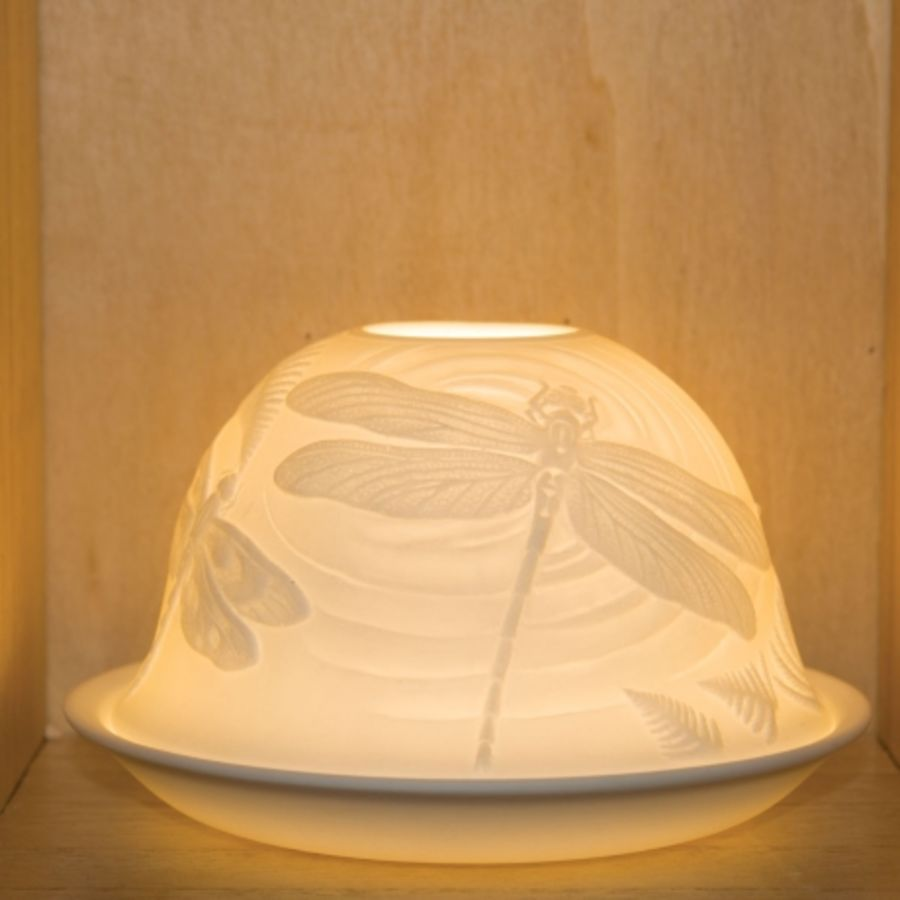 Nordic Lights Candle Shade - Dragonfly