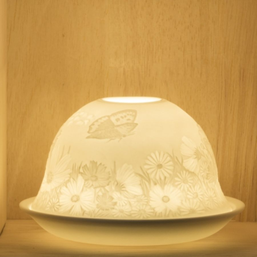 Nordic Lights Candle Shade - Butterfly