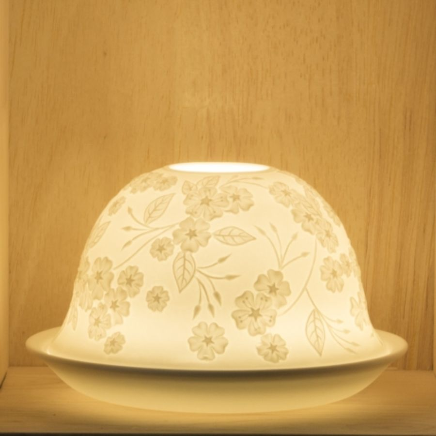 Nordic Lights Candle Shade - Flower