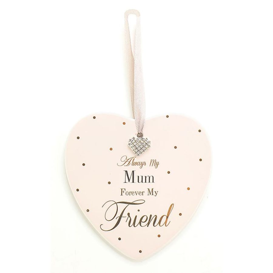 Always My Mum Mad Dots Hearts Plaque