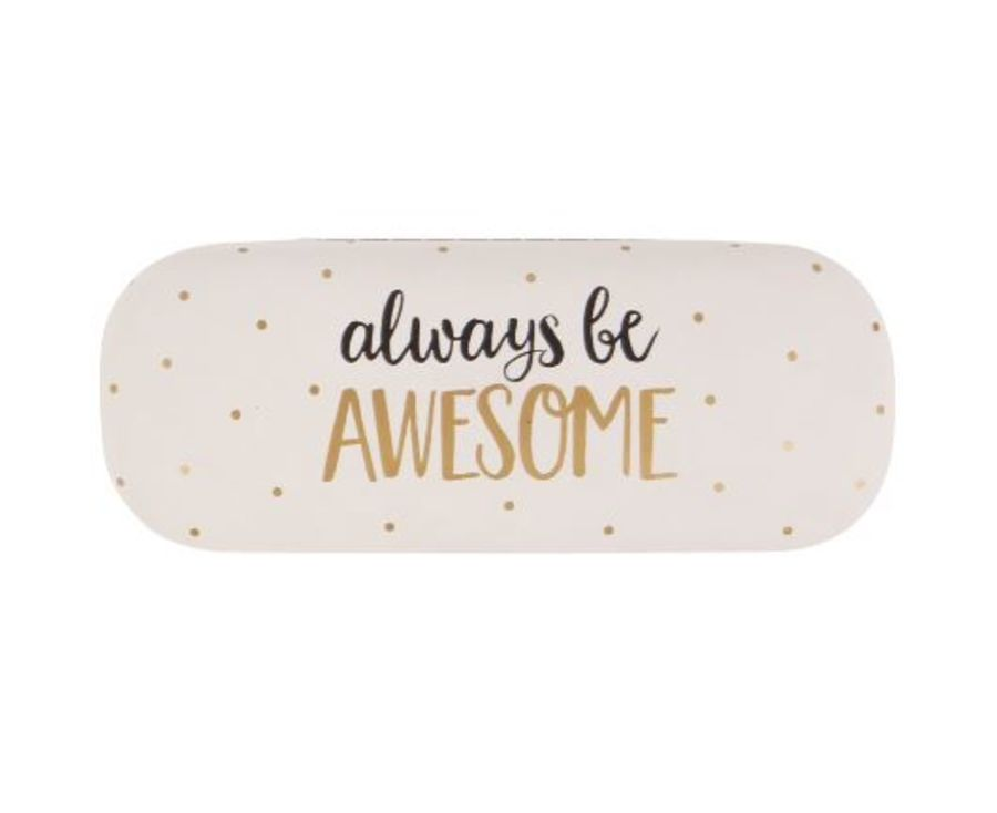 always be AWESOME Glasses Case