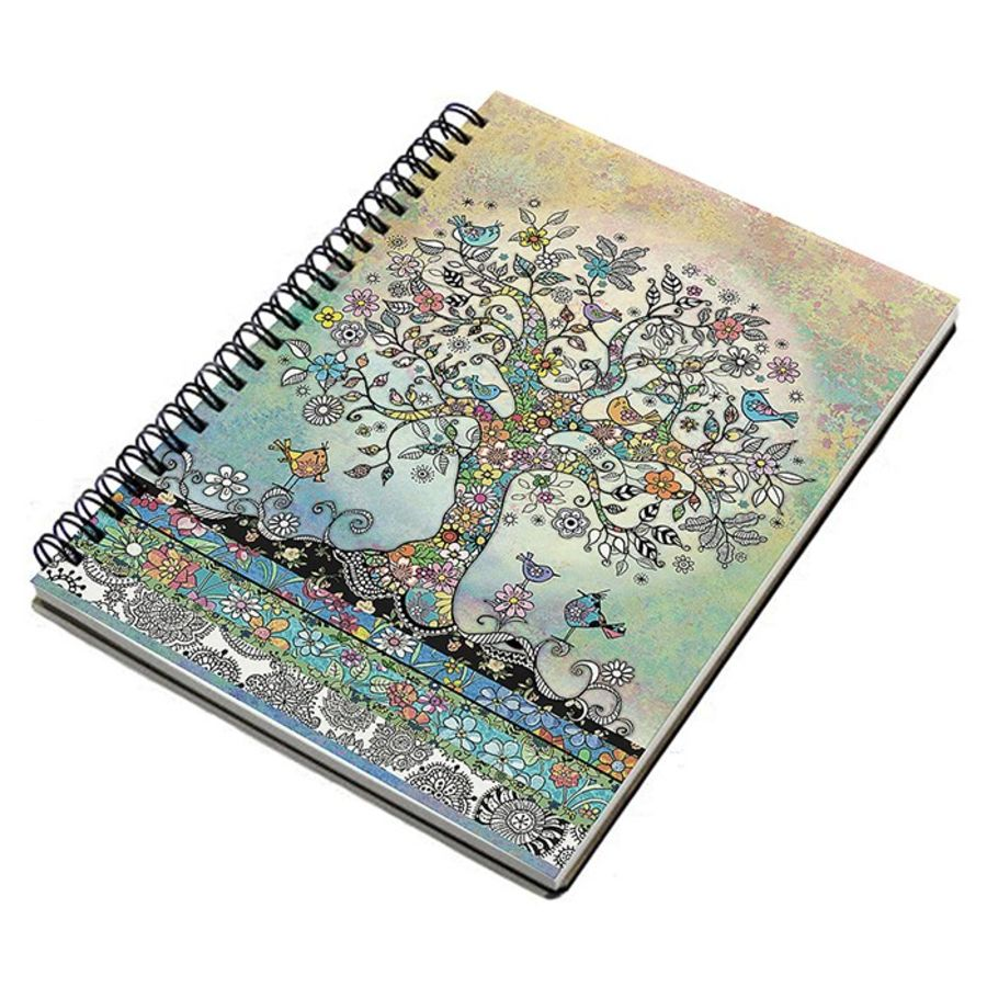 Bug Art Tree Design Notebook