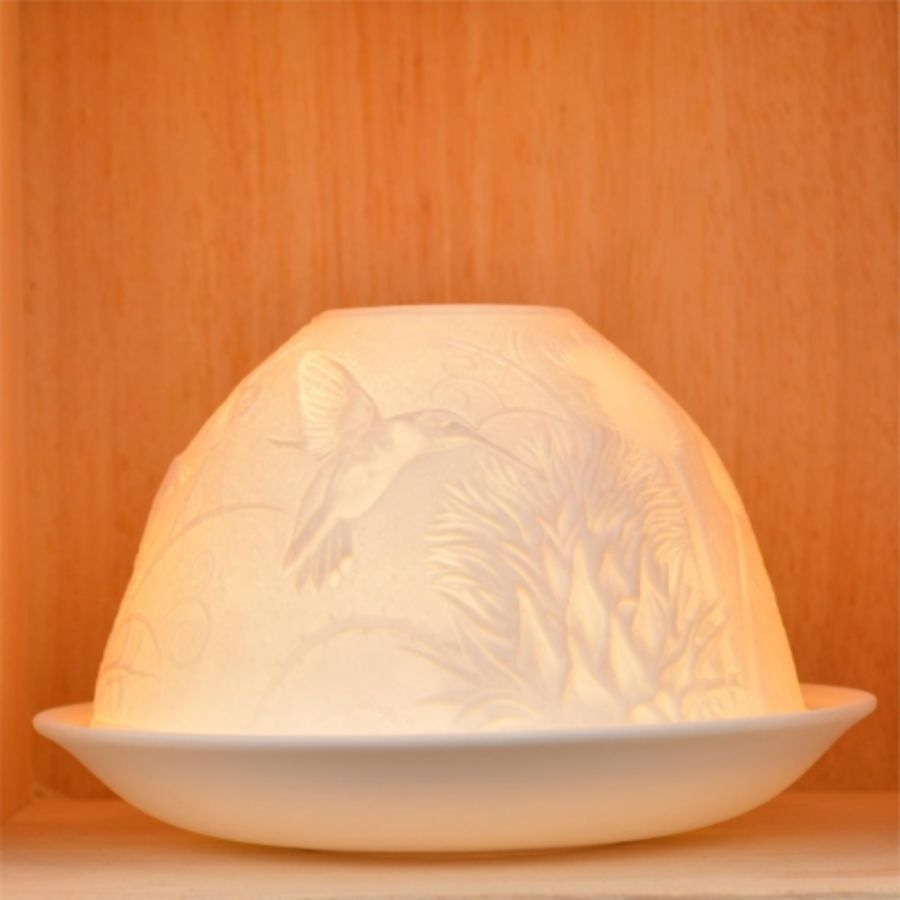 Nordic Lights Candle Shade - Hummingbird