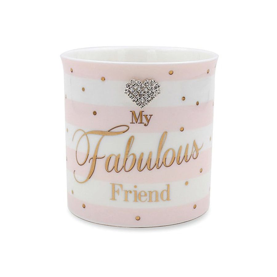 Fabulous Friend Mad Dots Candle Pot