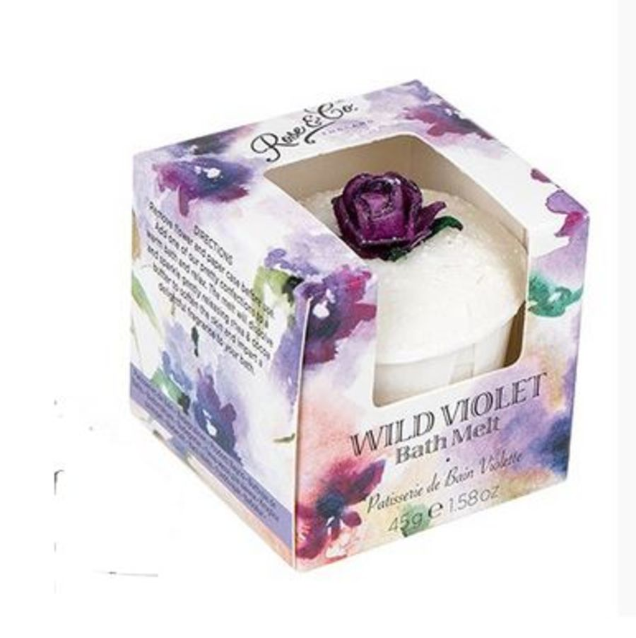 Wild Violet bath Melt by Rose & Co.