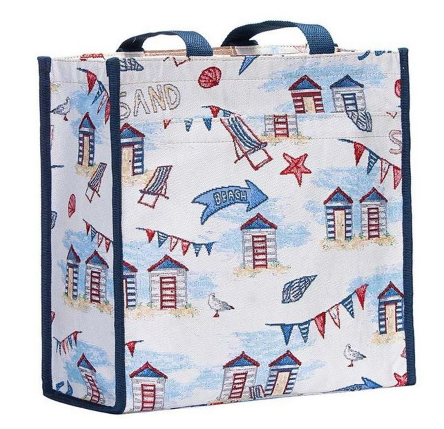 Beach Hut SHOPPER by Signare