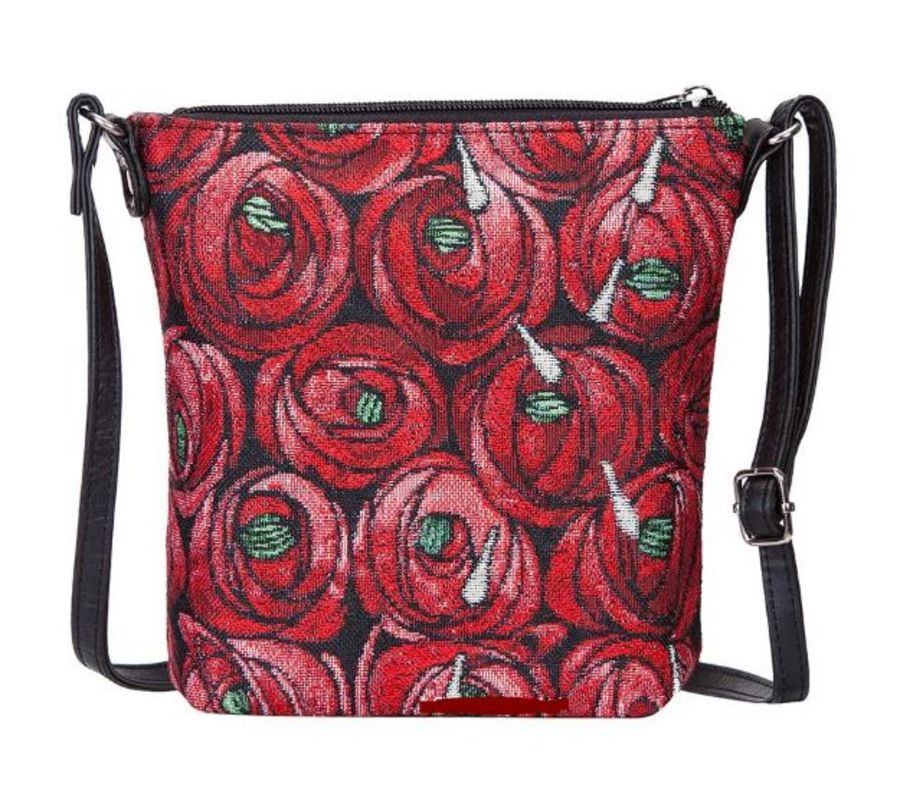 Mackintosh Rose & Teardrop Sling Bag by Signare