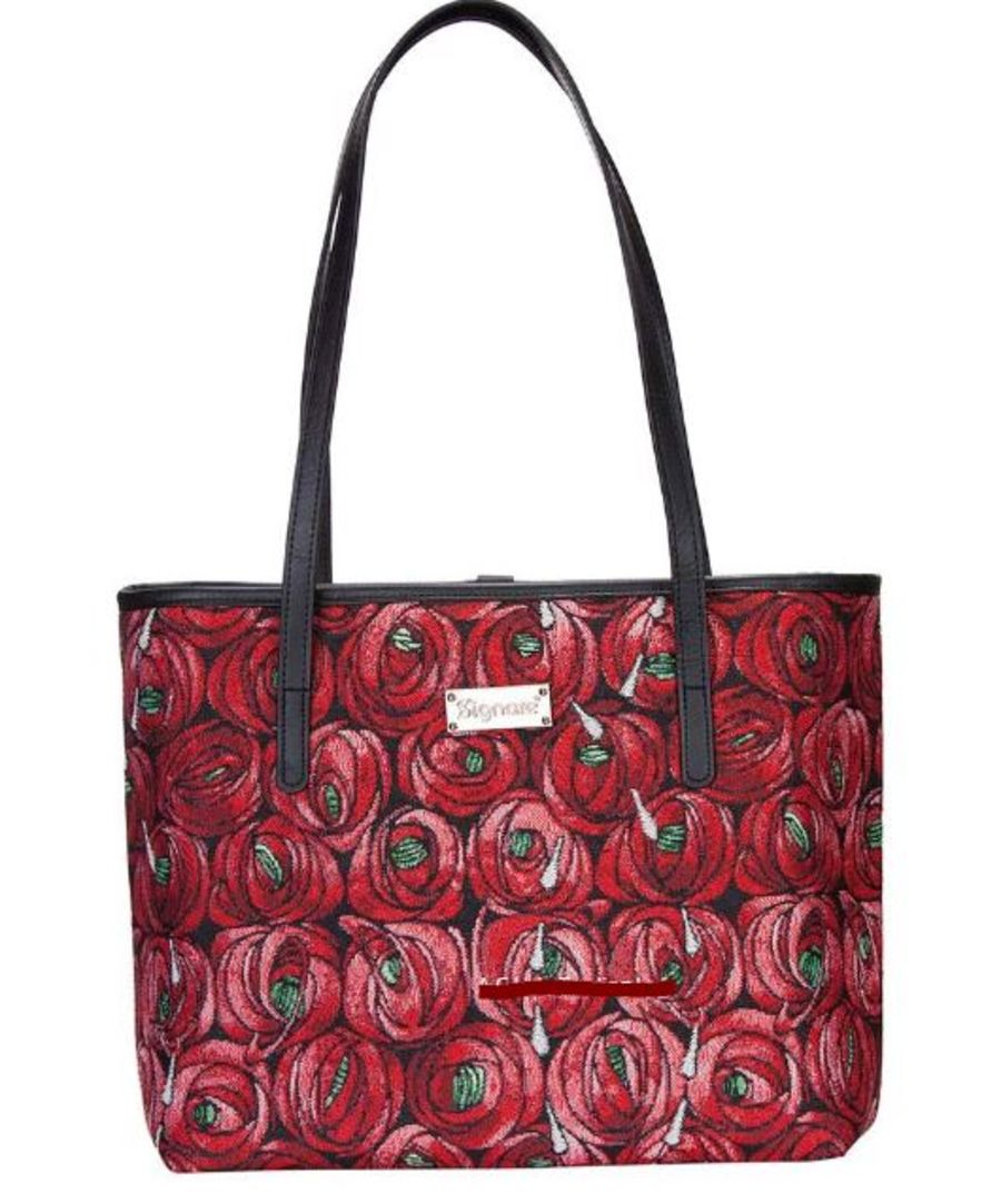 Mackintosh Rose & Teardrop College Bag by Signare