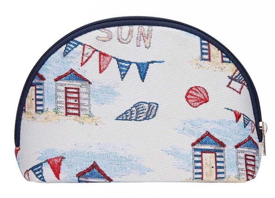 Signare Beach Hut Large Cosmetic Bag