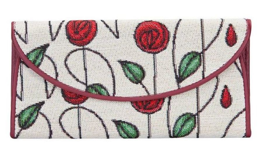 Mackintosh Simple Rose Envelope Purse by Signare