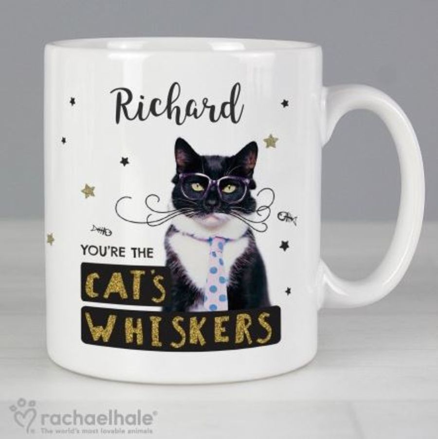 You're The Cat's Whiskers Personalised Mug