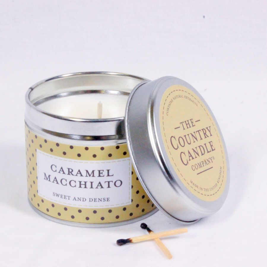 Caramel Macchiato Candle in a Tin