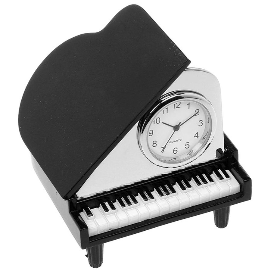 Grand Piano Miniature Quartz Clock