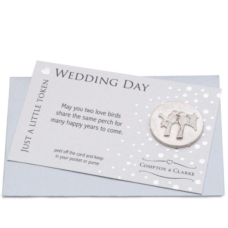 Wedding Day Pocket Charm by Compton & Clarke