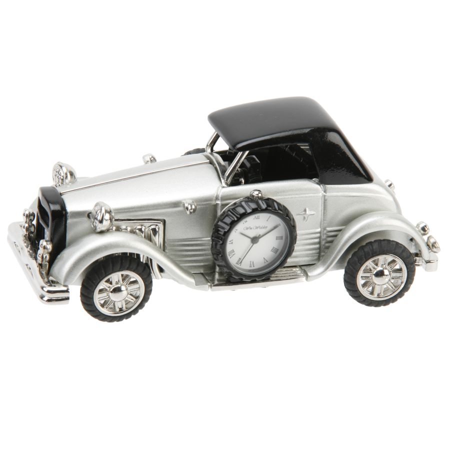 Vintage Car - Miniature Clock
