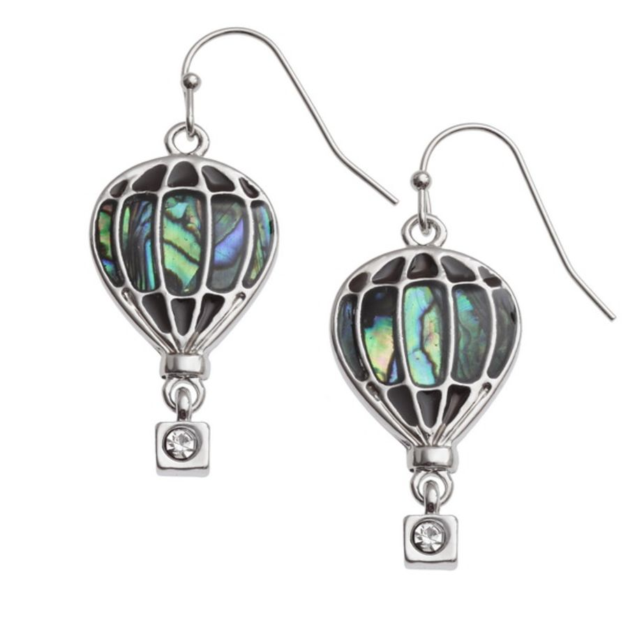 Hot Air Balloon Earrings by Tide Jewellery