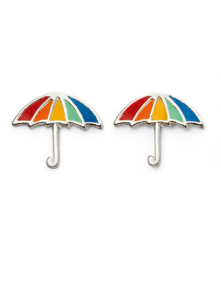 925 Silver Umbrella Stud Earrings