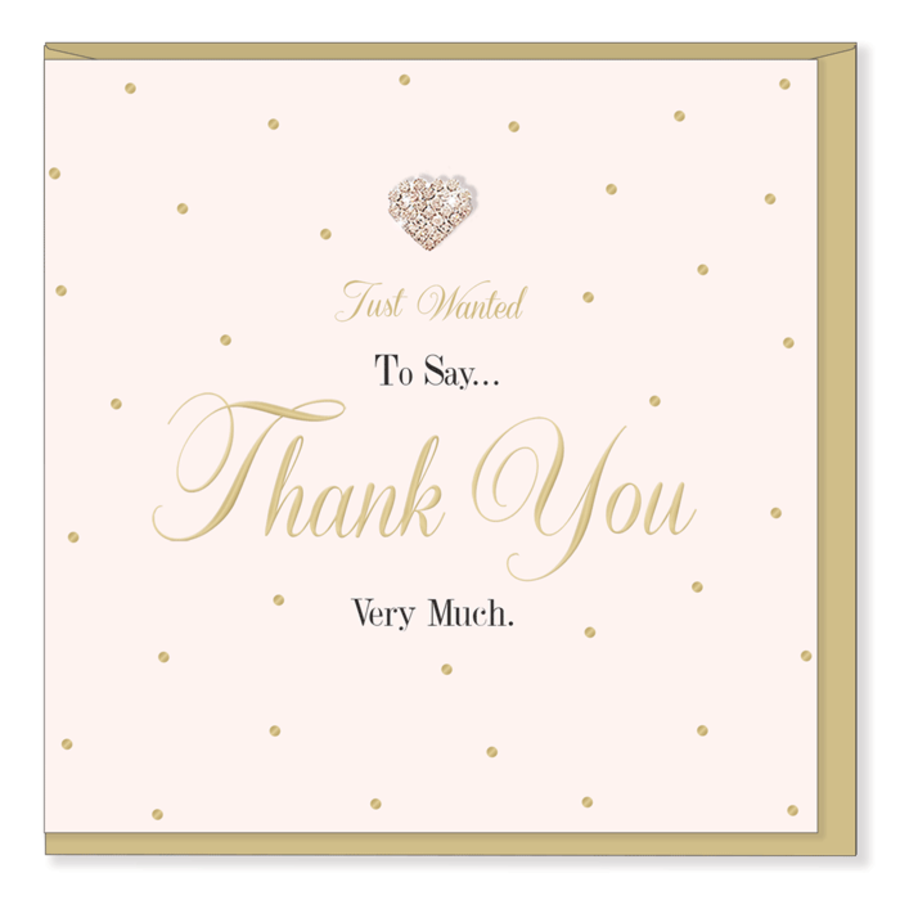 Thank You - Mad Dots Card