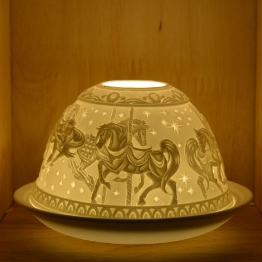 Nordic Lights Candle Shade - Carousel