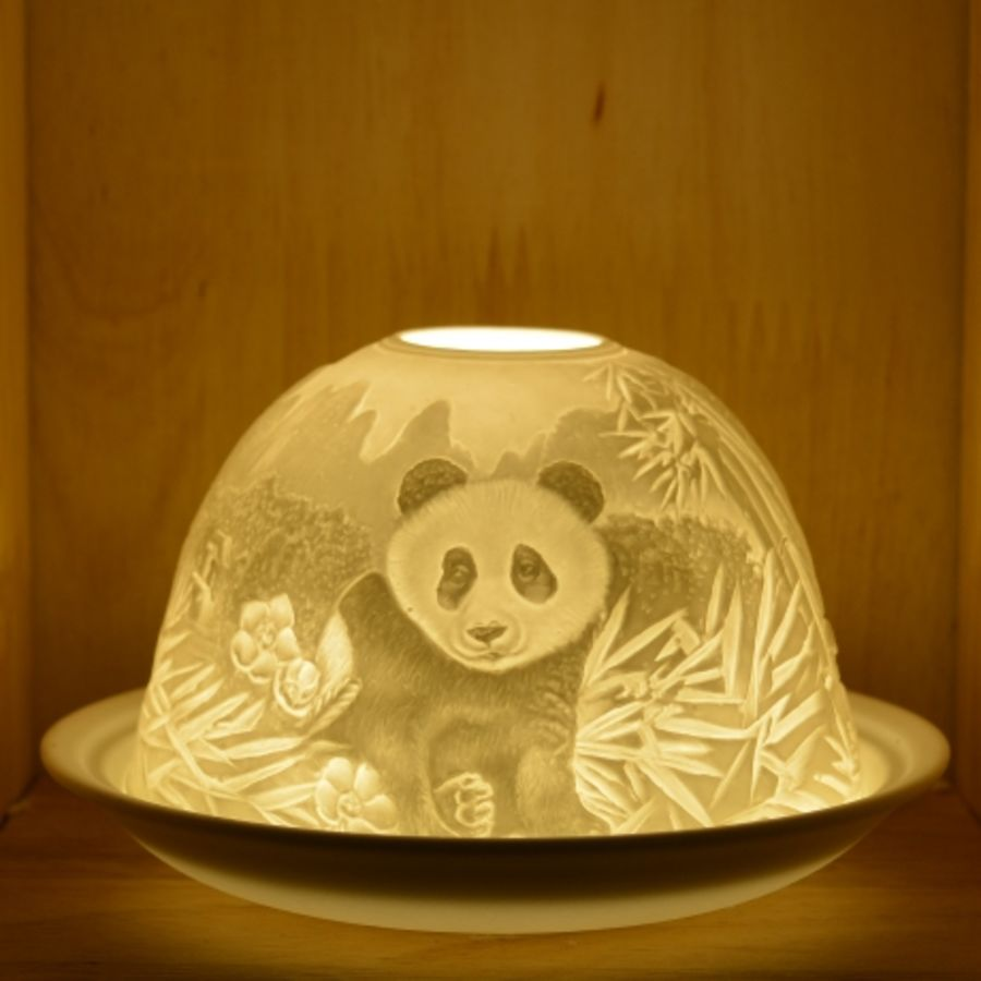 Nordic Lights Candle Shade - Panda