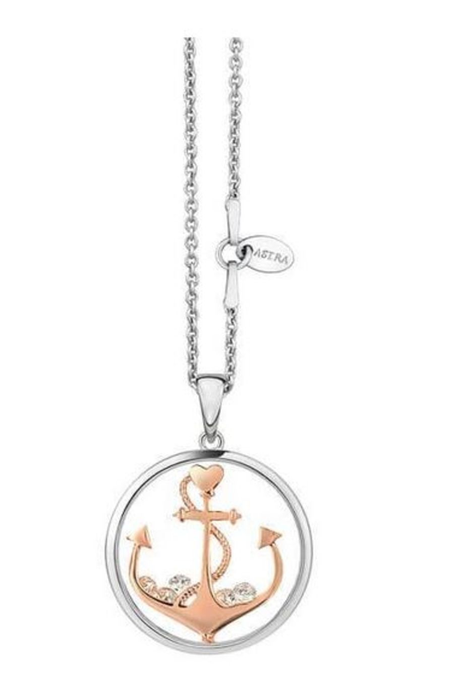Anchor The Soul Silver Pendant by Astra Jewellery