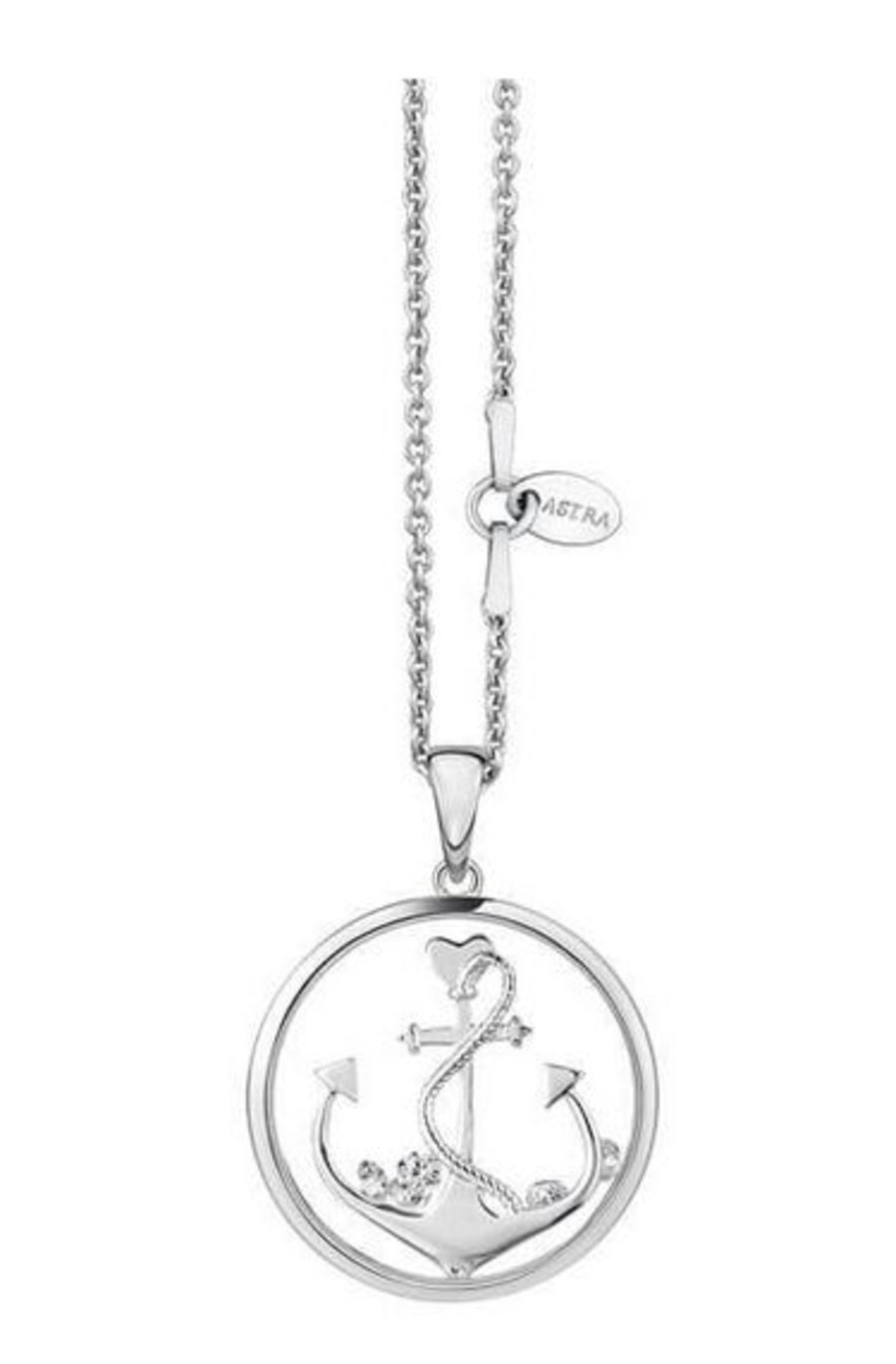 Anchor The Soul Silver Pendant & Chain by Astra Jewellery