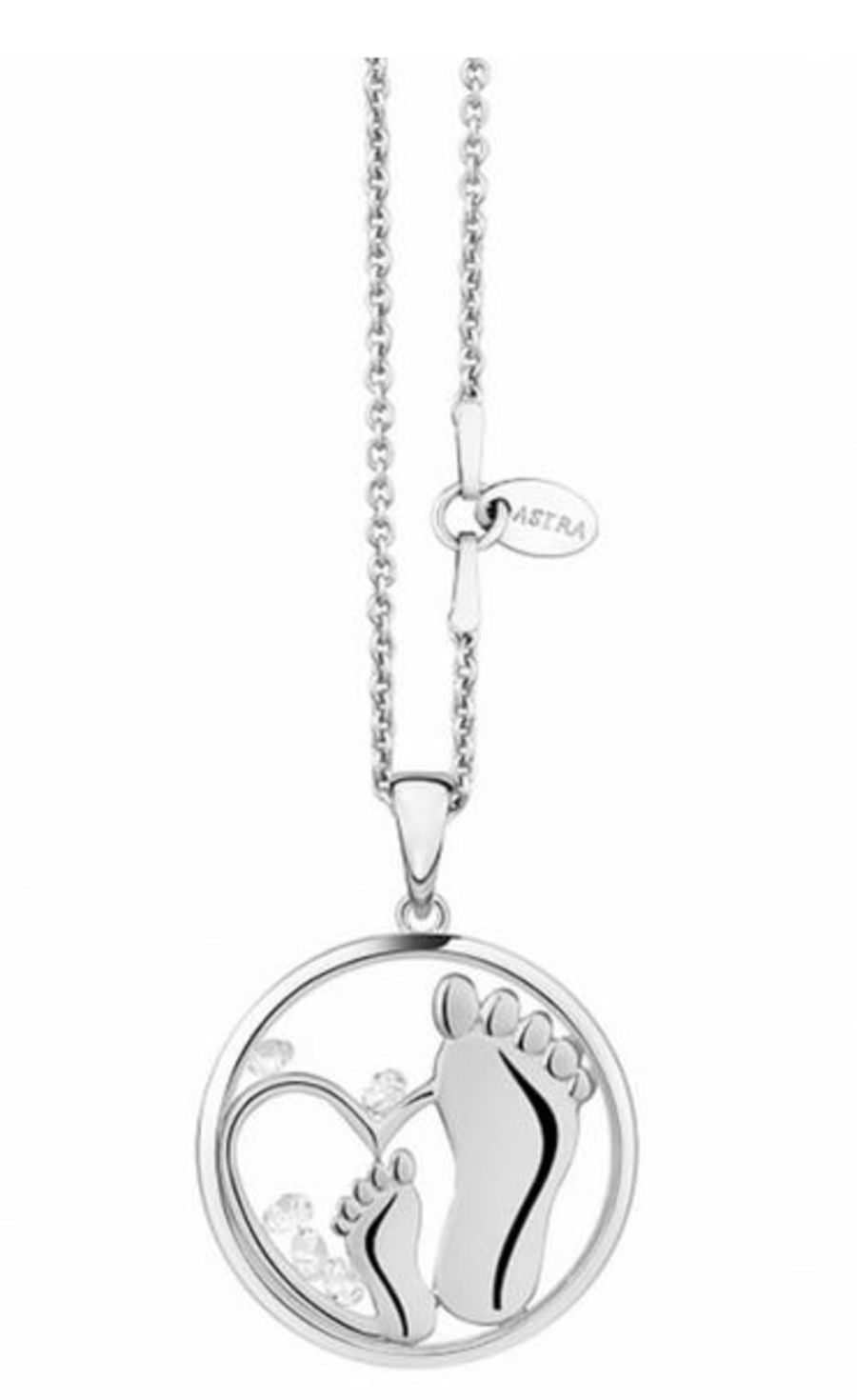 Gift Of Life Silver Pendant & Chain by Astra Jewellery