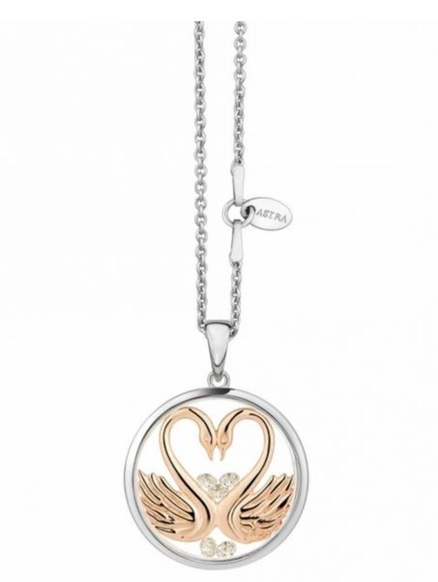 My Sweetheart Silver Pendant & Chain by Astra Jewellery