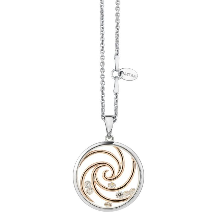 Inner Harmony Silver Pendant & Chain by Astra Jewellery