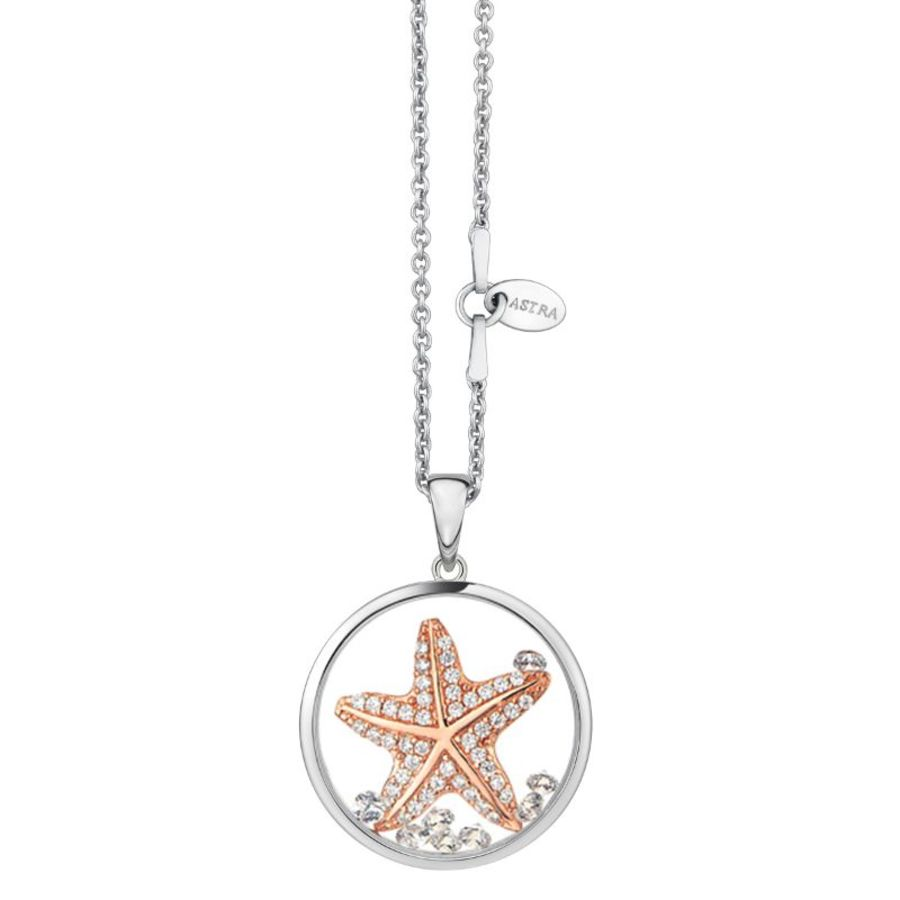 Hopeful Star Silver Pendant & Chain by Astra Jewellery