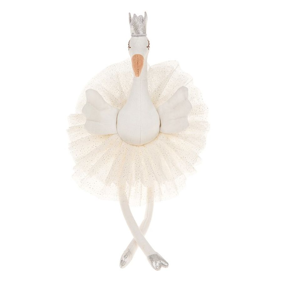 Doodles Rags Fifi White Flamingo