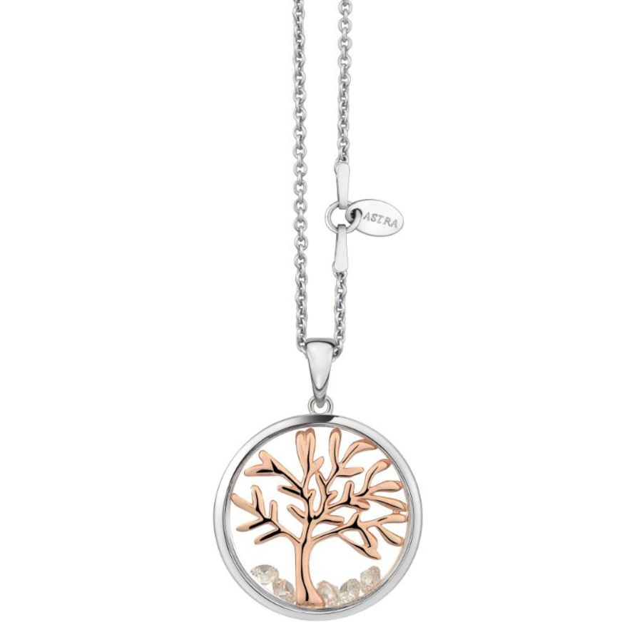 Tree Of Life Silver Necklace & Chain by Astra Jewellery