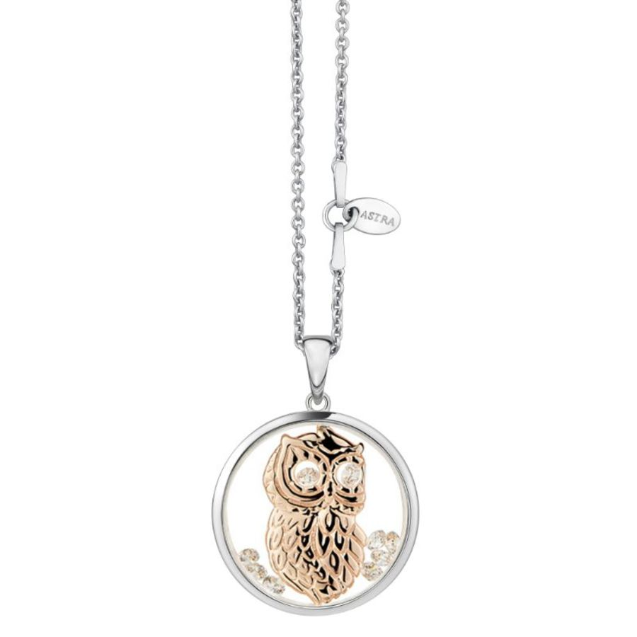 Wise Owl Silver Necklace by Astra Jewellery