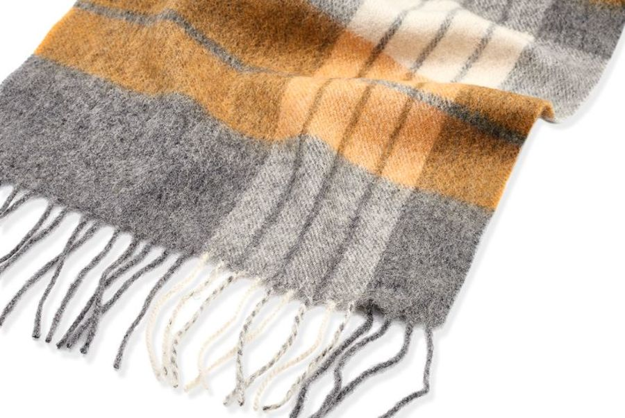 Classic Gents Style 100% Wool Scarf - PWBY29