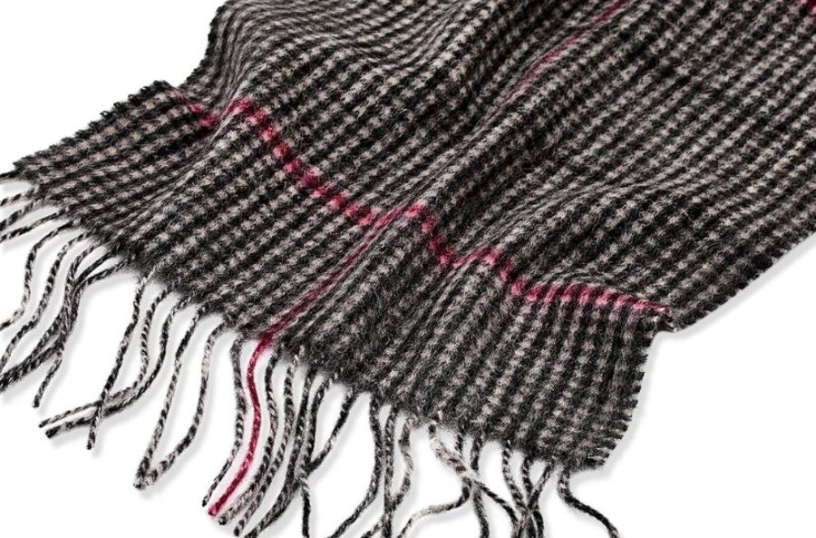 Classic Gents Style 100% Wool Scarf - PBY33W