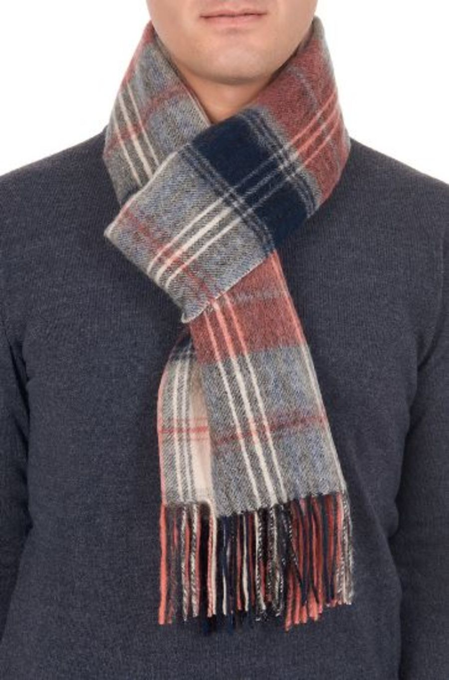 Classic Gents Style 100% Wool Scarf - PBY21W