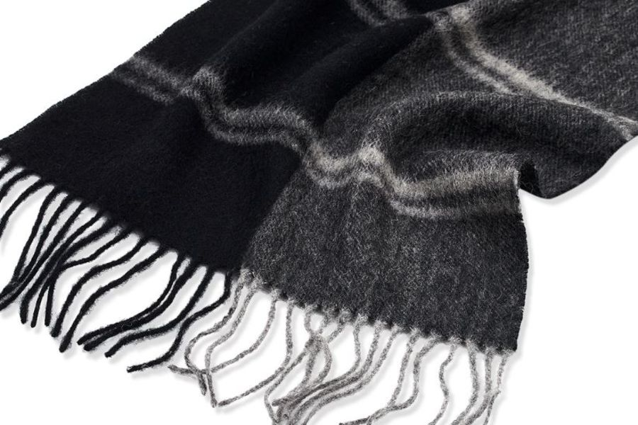 Classic Gents Style 100% Wool Scarf - PBY35W