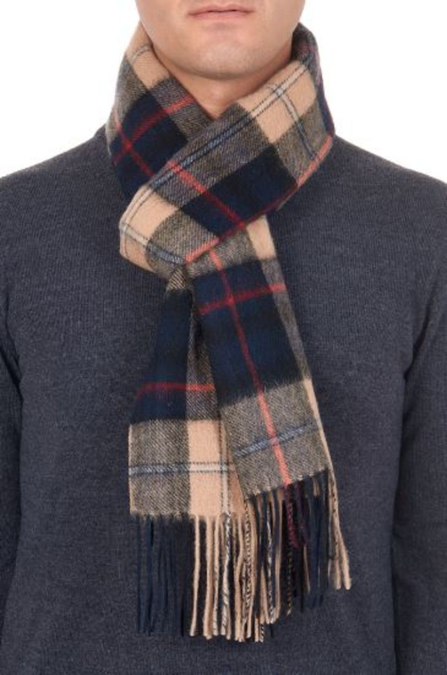 Classic Gents Style 100% Wool Scarf - PBY14W