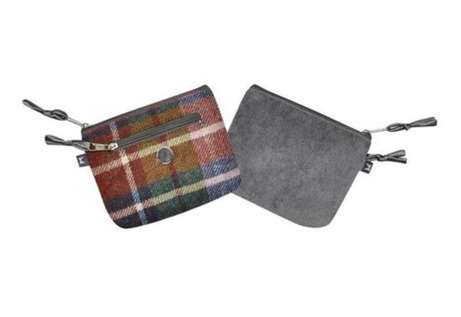 Tweed EMILY Purse - DAMSON