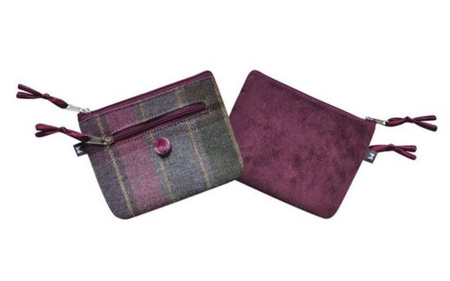 Tweed EMILY Purse - HEATHER