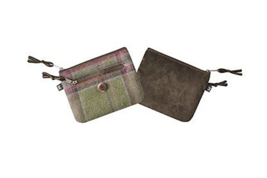 Tweed EMILY Purse - MOORLAND