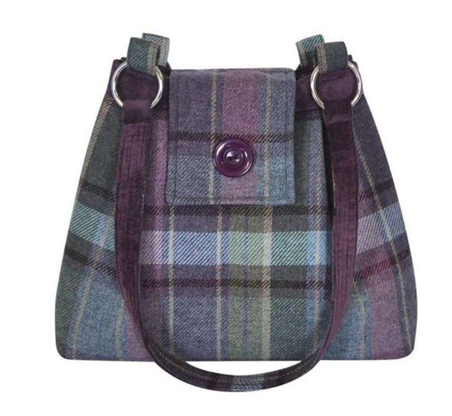 Tweed AVA Bag - HEATHER