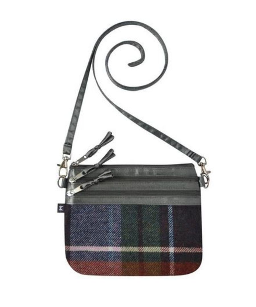 Tweed POUCH Bag - DAMSON