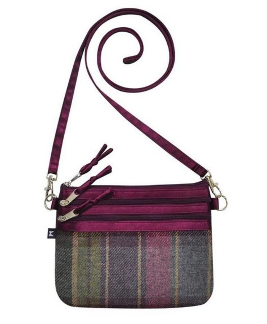 Tweed POUCH Bag - HEATHER